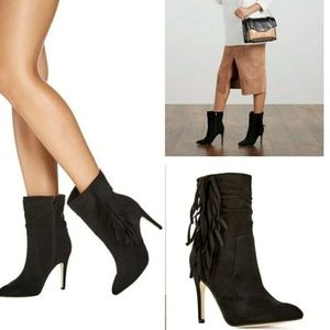 Just Fab size 10 Posey Fringe Bootie